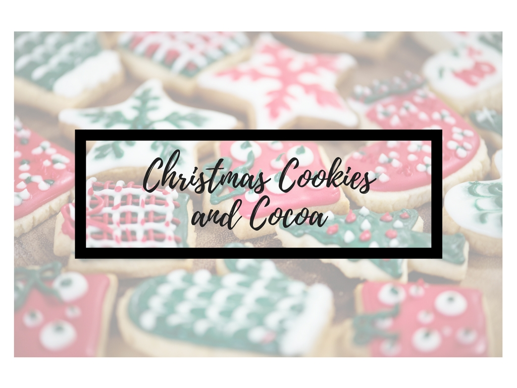 Christmas cookies and cocoa 2