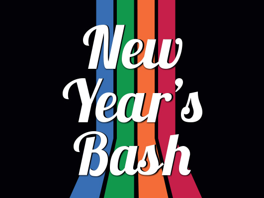 New year s bash 2018 graphic