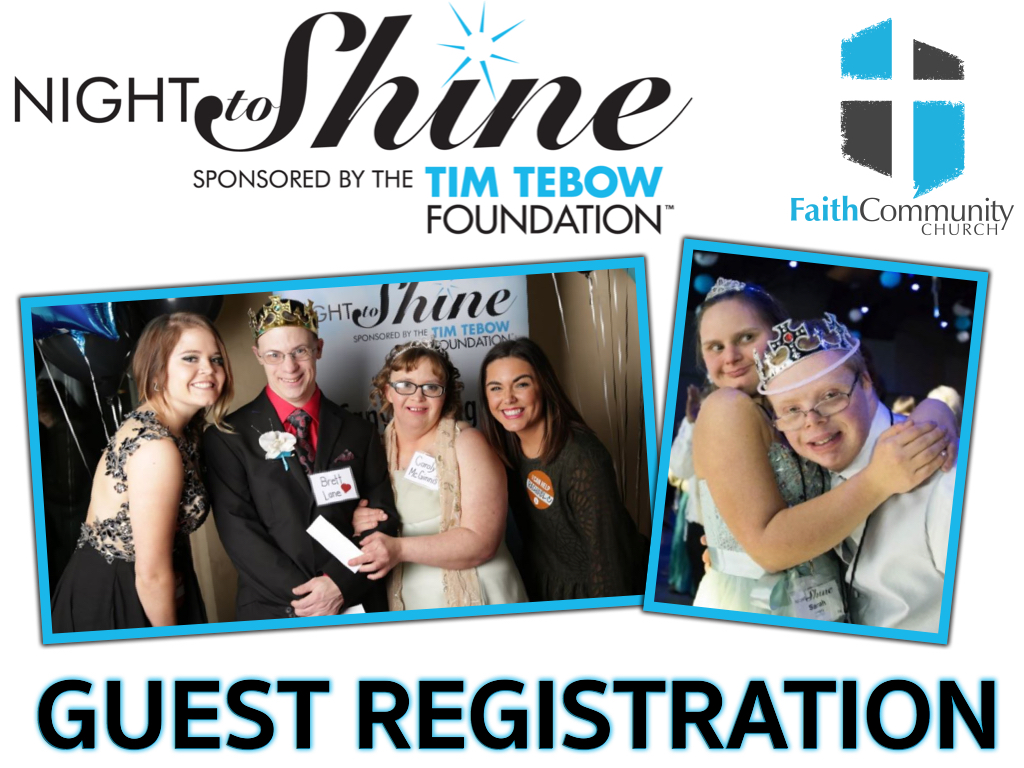Night to shine pco guest registration