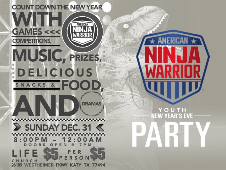 New year s eve party flyer