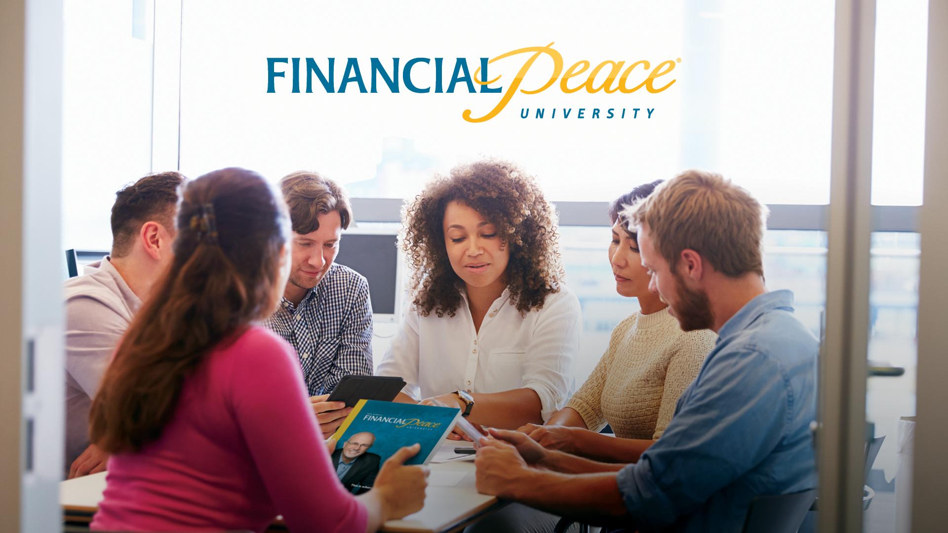 Financial peace slide classroom