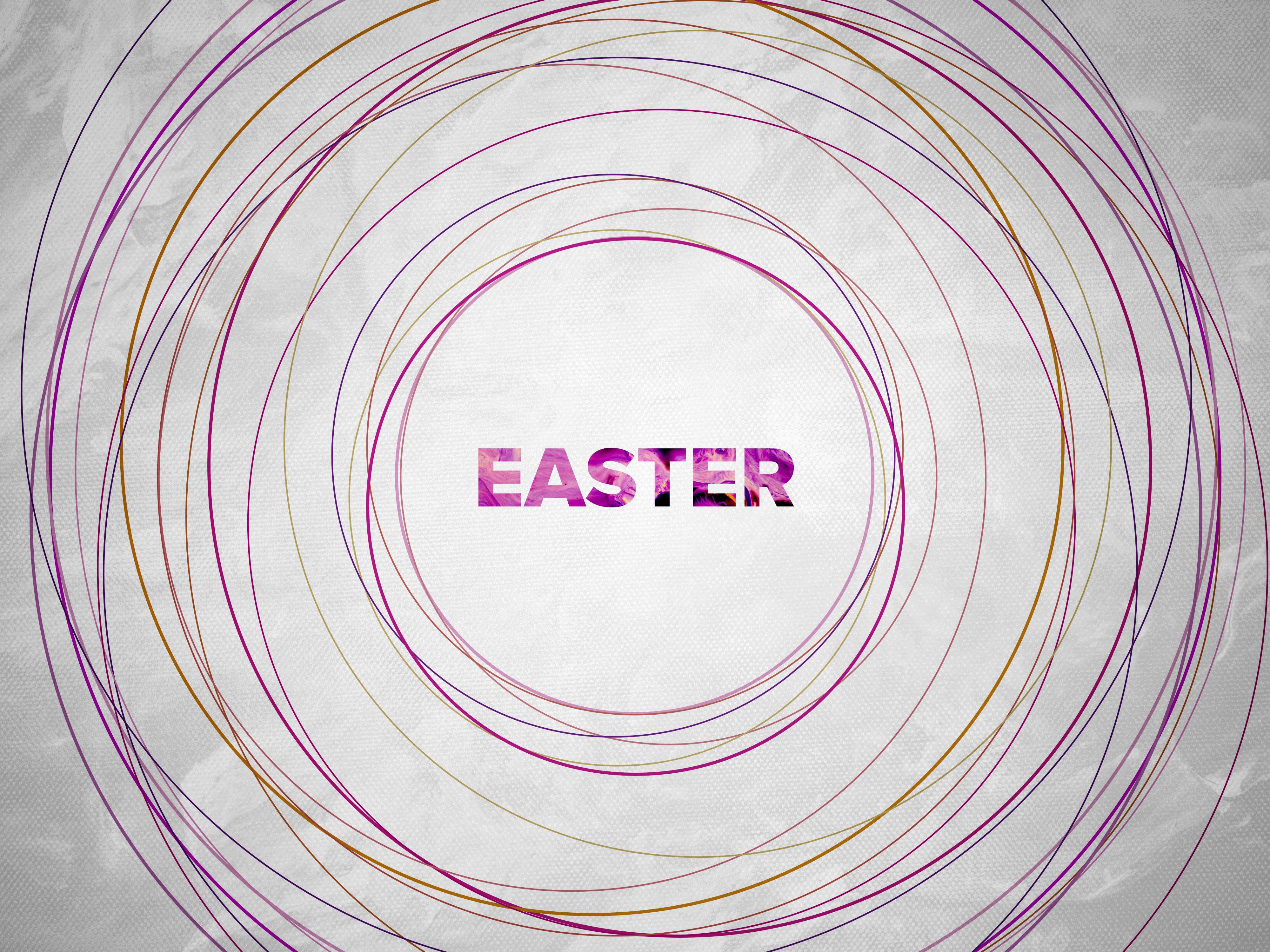Hero   easter circles colors