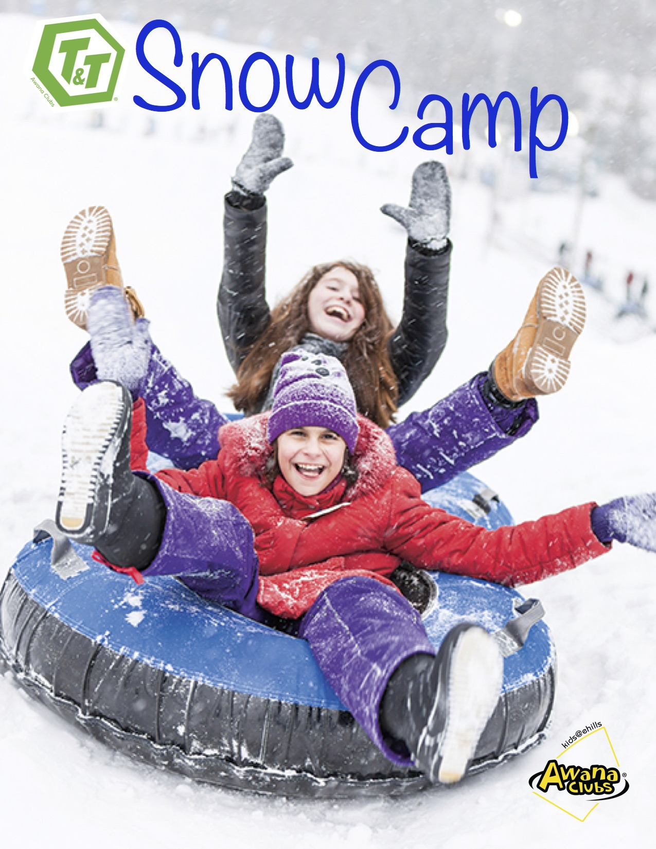 Snow camp graphic