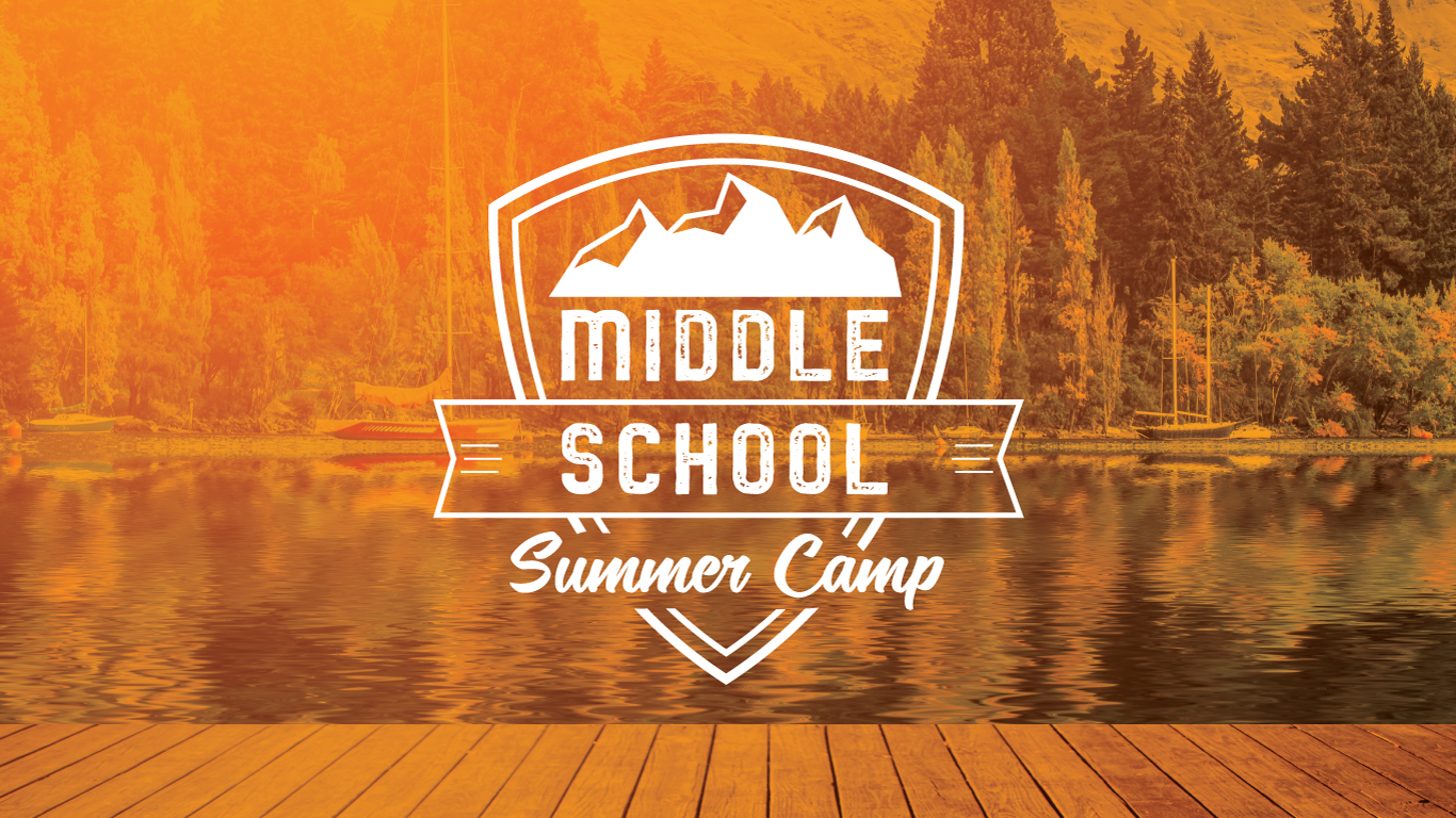 Middle school summer camp pco reg event cover