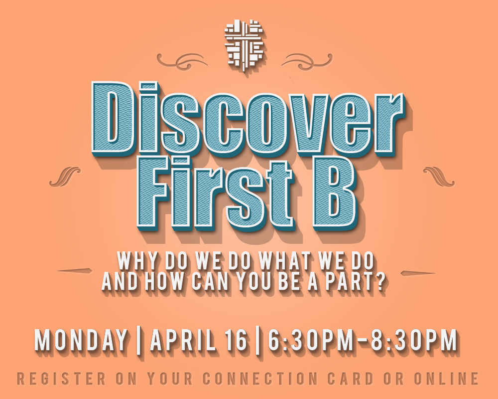 Discover first b 4 16 18