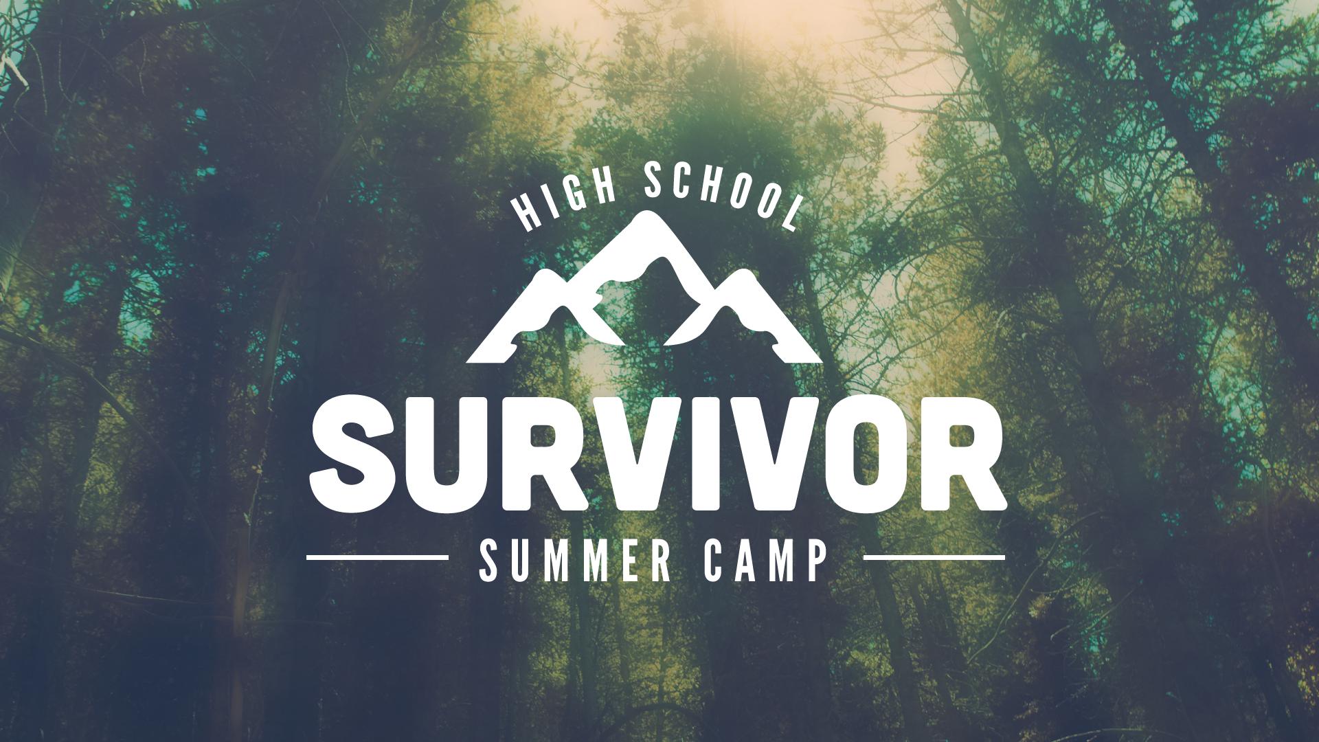 High school survivor camp blank