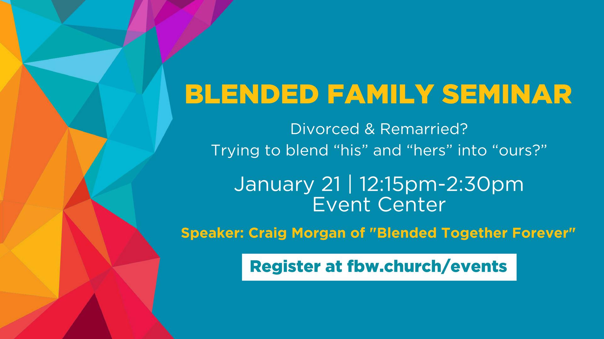Blended family seminar