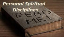 Personal spiritual disciplines