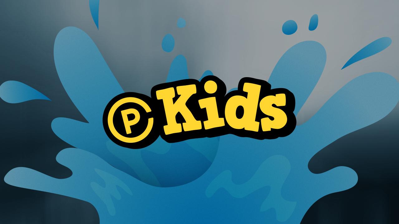 Kids baptism