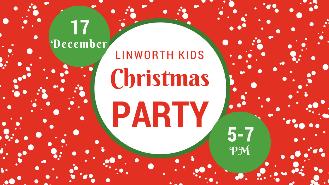 Kids christmas party web event image