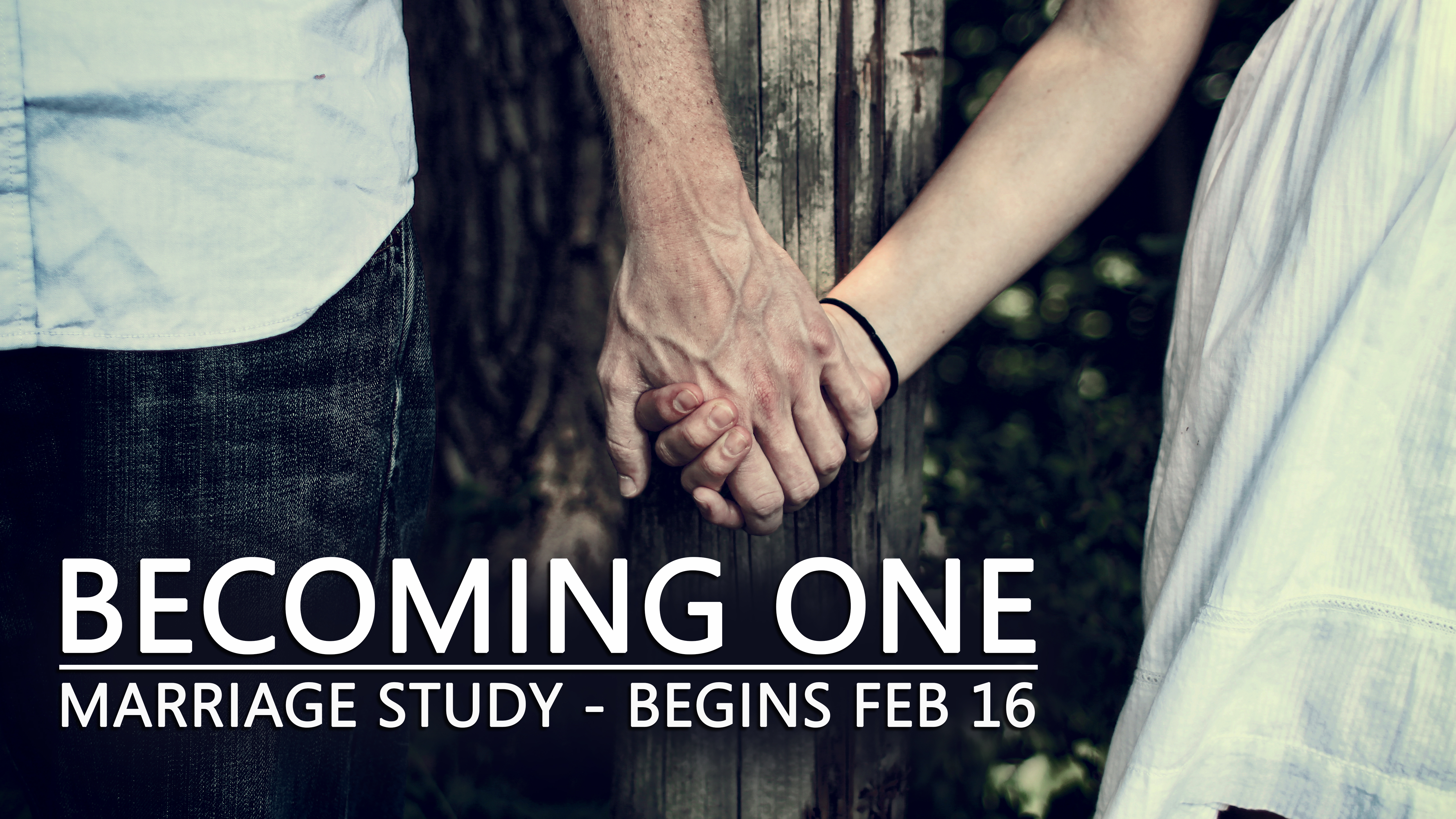 Becoming one announcement
