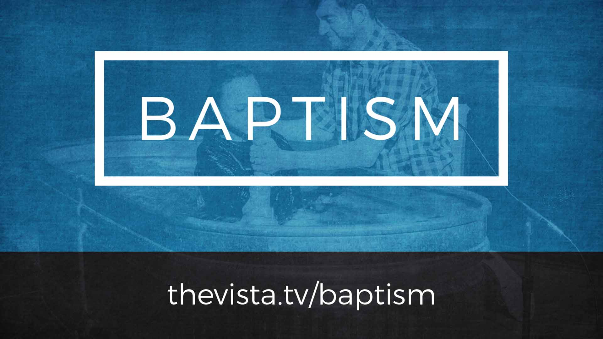 Baptism slide