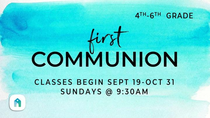 First Communion (Sunday Morning Class) logo