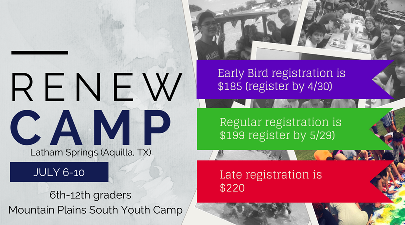Renew youth camp  1
