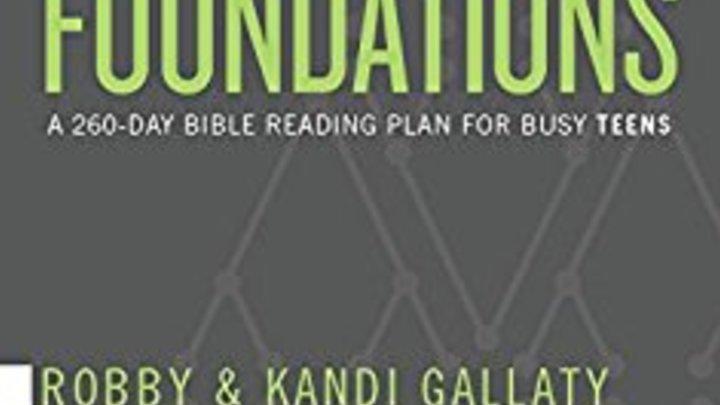 Foundations Bible Reading Plan logo image