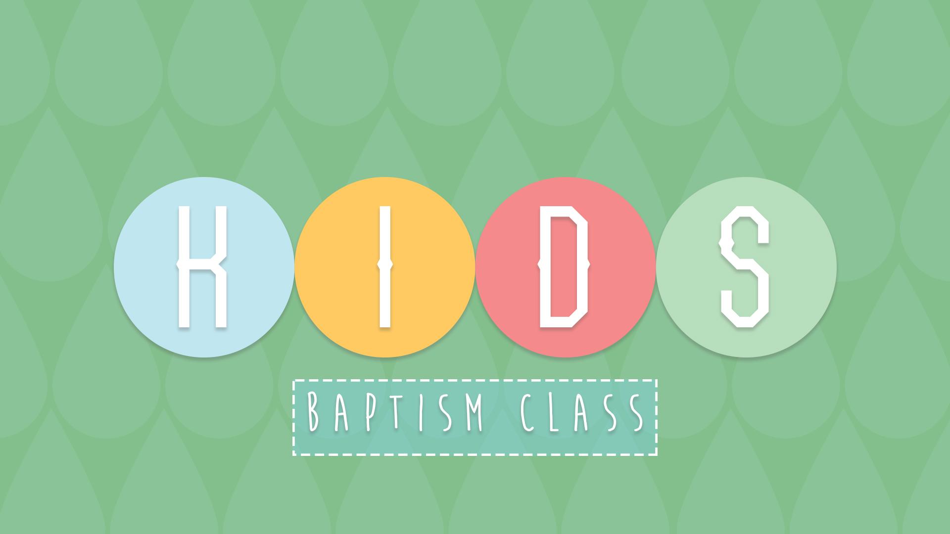 Baptism class rectangle