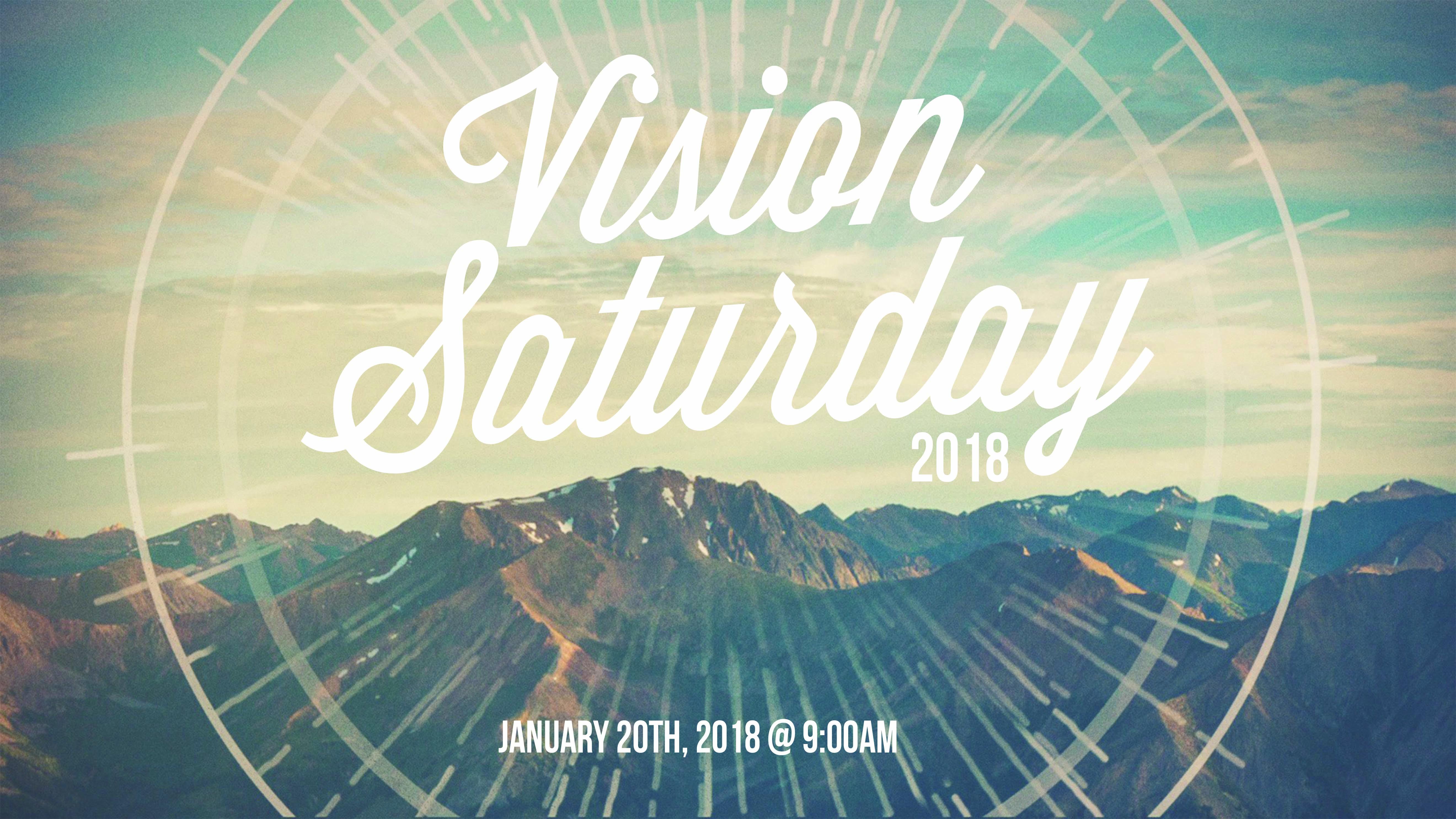 Vision saturday 2018 announce