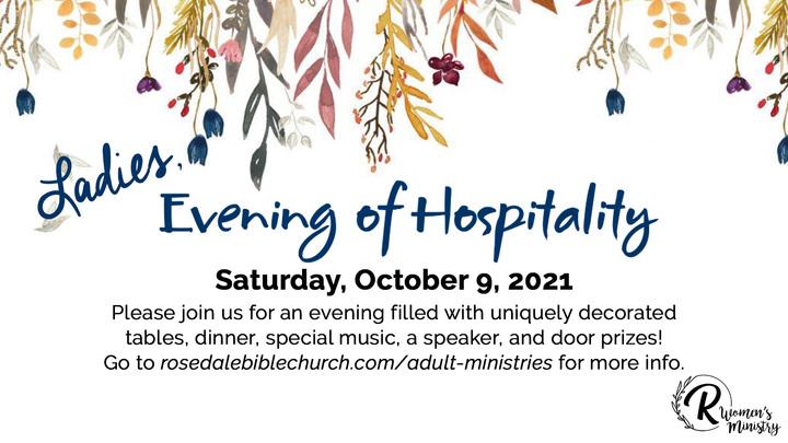 Ladies Evening of Hospitality logo